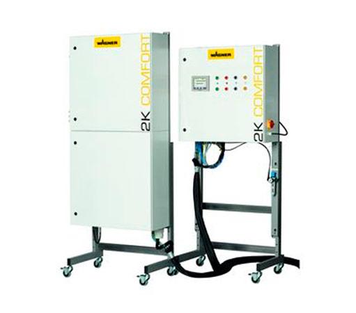 Mezcladora electroncia wagner 2k comfort
